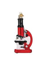 Old World Christmas Microscope