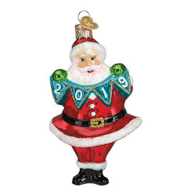 Old World Christmas 2019 Santa