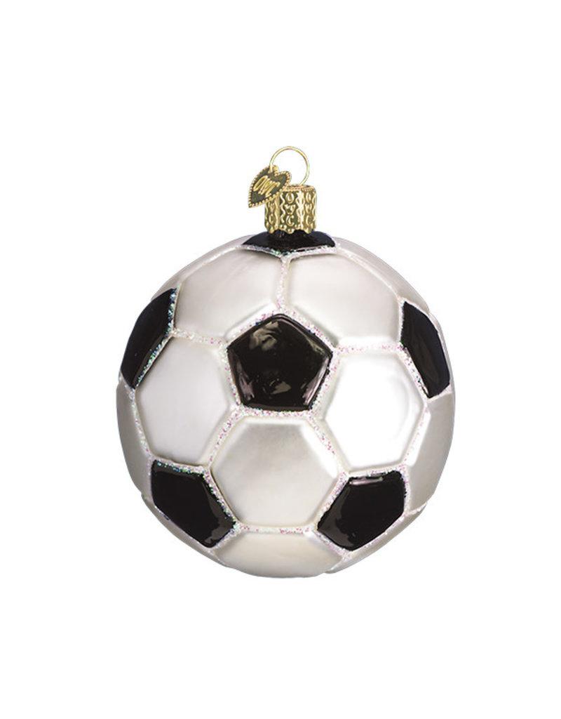 Old World Christmas Soccer Ball