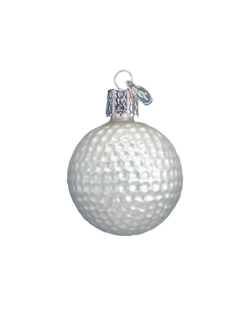 Old World Christmas Golf Ball