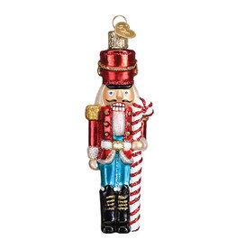 Old World Christmas Peppermint Nutcracker