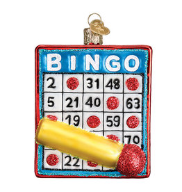 Old World Christmas Bingo