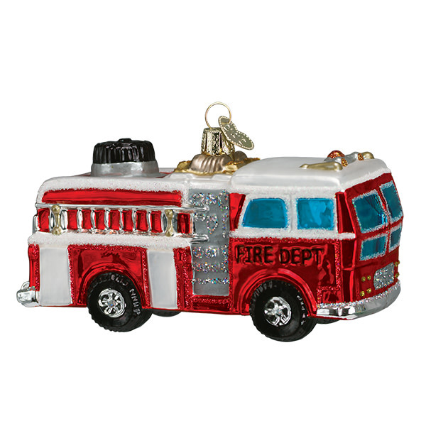 Old World Christmas Firetruck