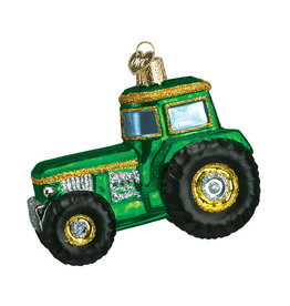 Old World Christmas Tractor