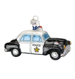 Old World Christmas Police Car