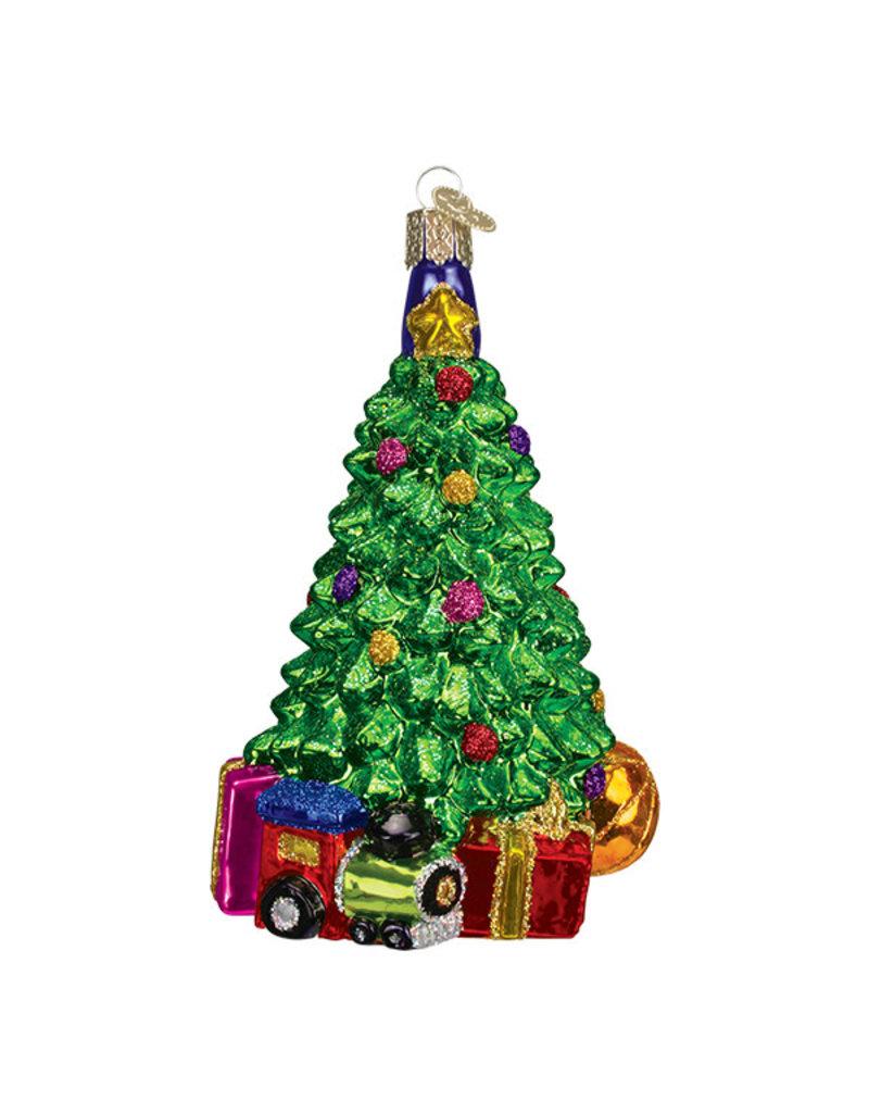 Old World Christmas Christmas Morning Tree
