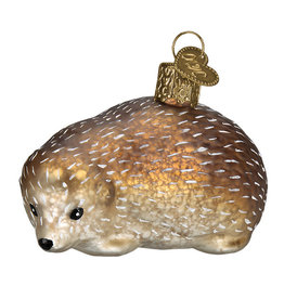 Old World Christmas Vintage Hedgehog