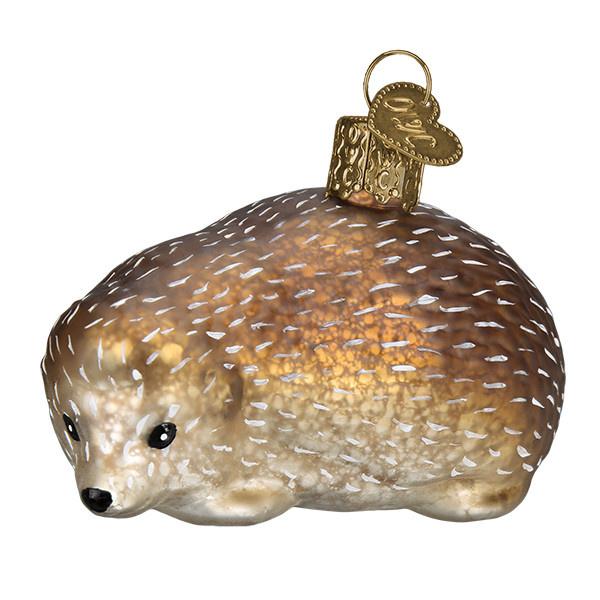 Old World Christmas Vintage Hedgehog