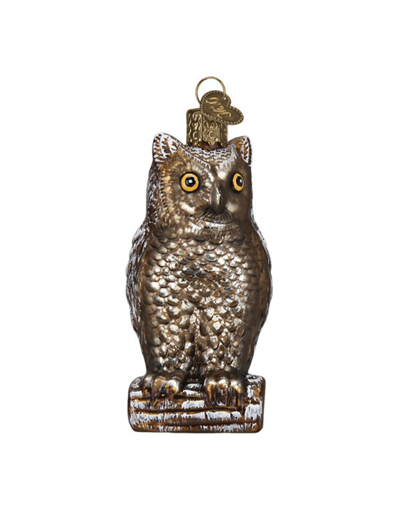 Old World Christmas Vintage Wise Old Owl
