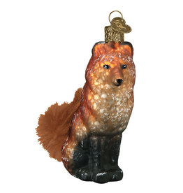 Old World Christmas Vintage Fox