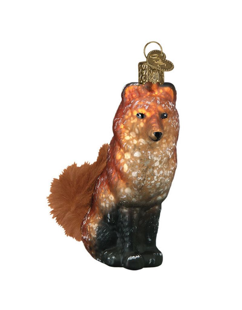 Old World Christmas Vintage Fox
