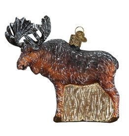 Old World Christmas Vintage Moose