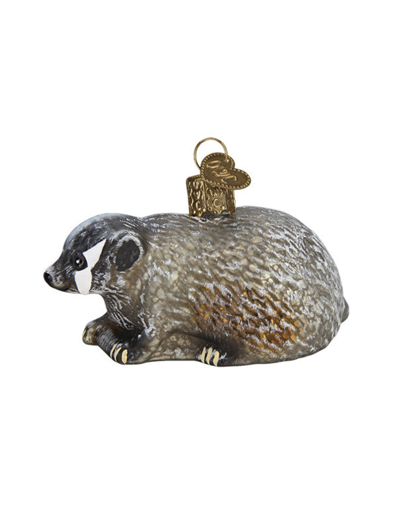Old World Christmas Vintage Badger