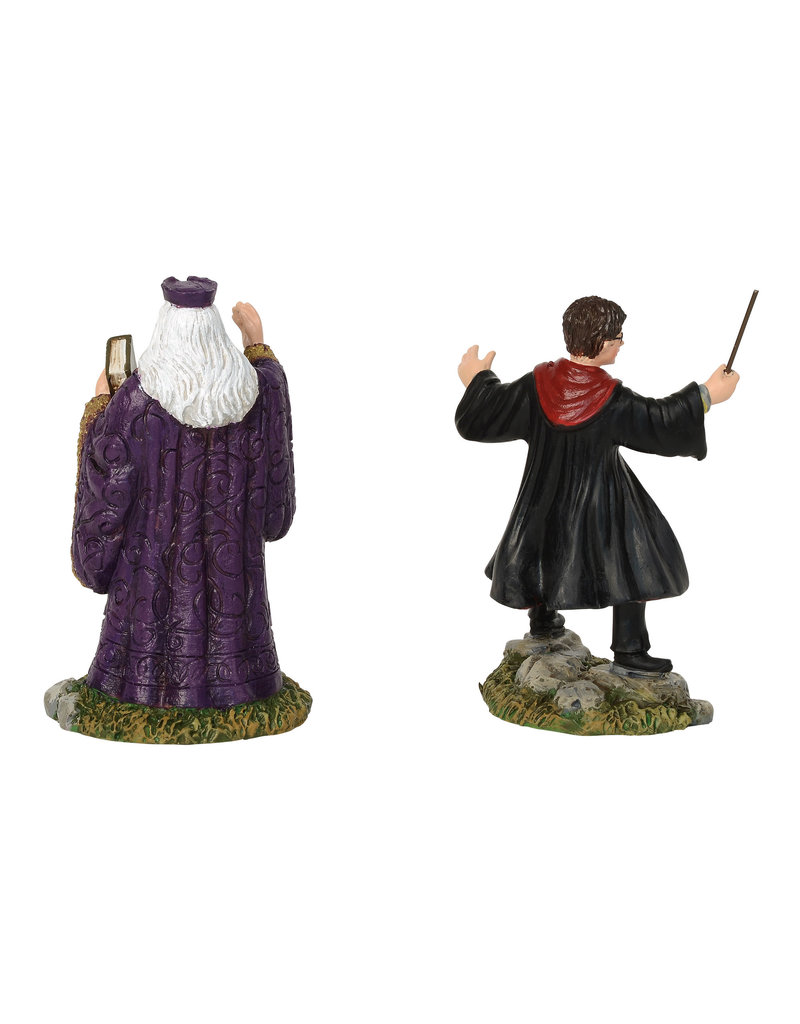 Department 56 Harry and the Headmaster for Harry Potter Village