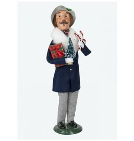 Byers' Choice Carolers Lewis Man Shopper
