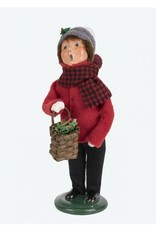 Byers' Choice Carolers Miller Boy with Wreath
