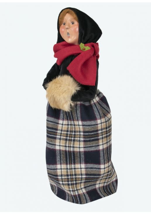 Byers' Choice Carolers Black and Tan Woman