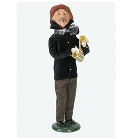 Byers' Choice Carolers Black and Tan Man