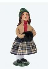 Byers' Choice Carolers Black and Tan Girl
