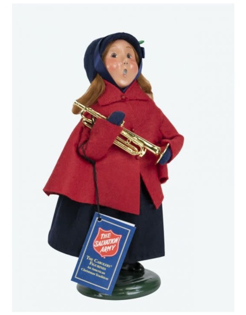 Byers' Choice Carolers Salvation Army Girl