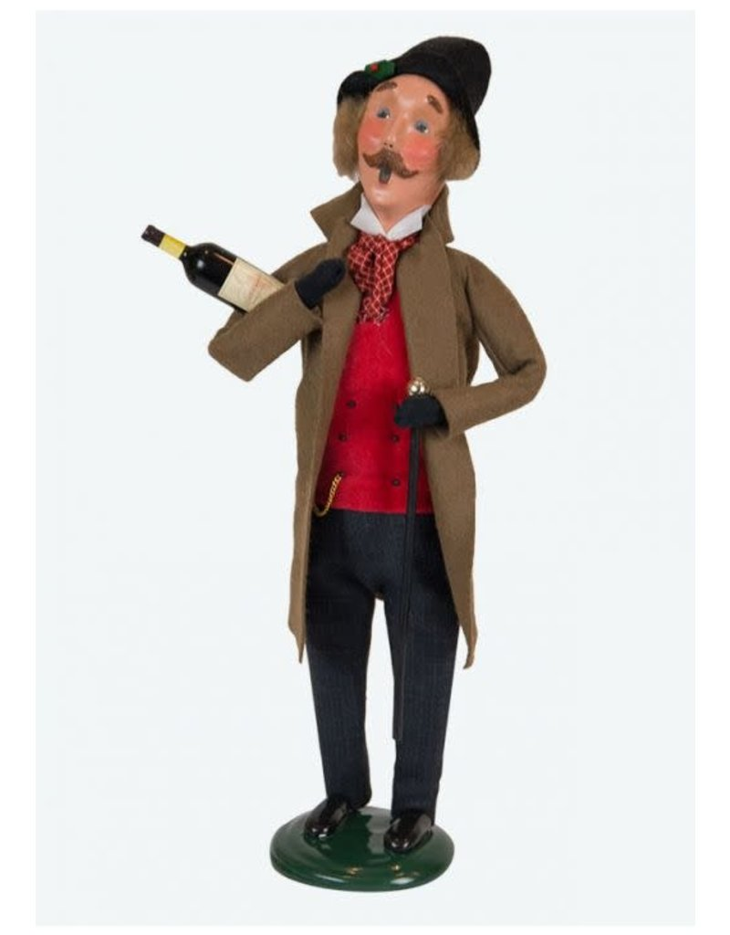Byers' Choice Carolers Victorian Man with Wine