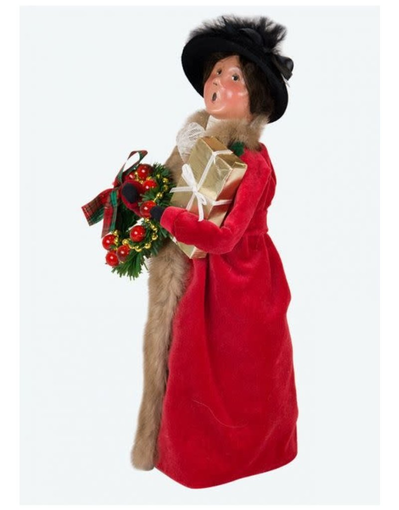 Byers' Choice Victorian Woman with Gifts