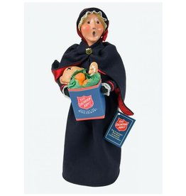 Byers' Choice Carolers Salvation Army Woman Shopper