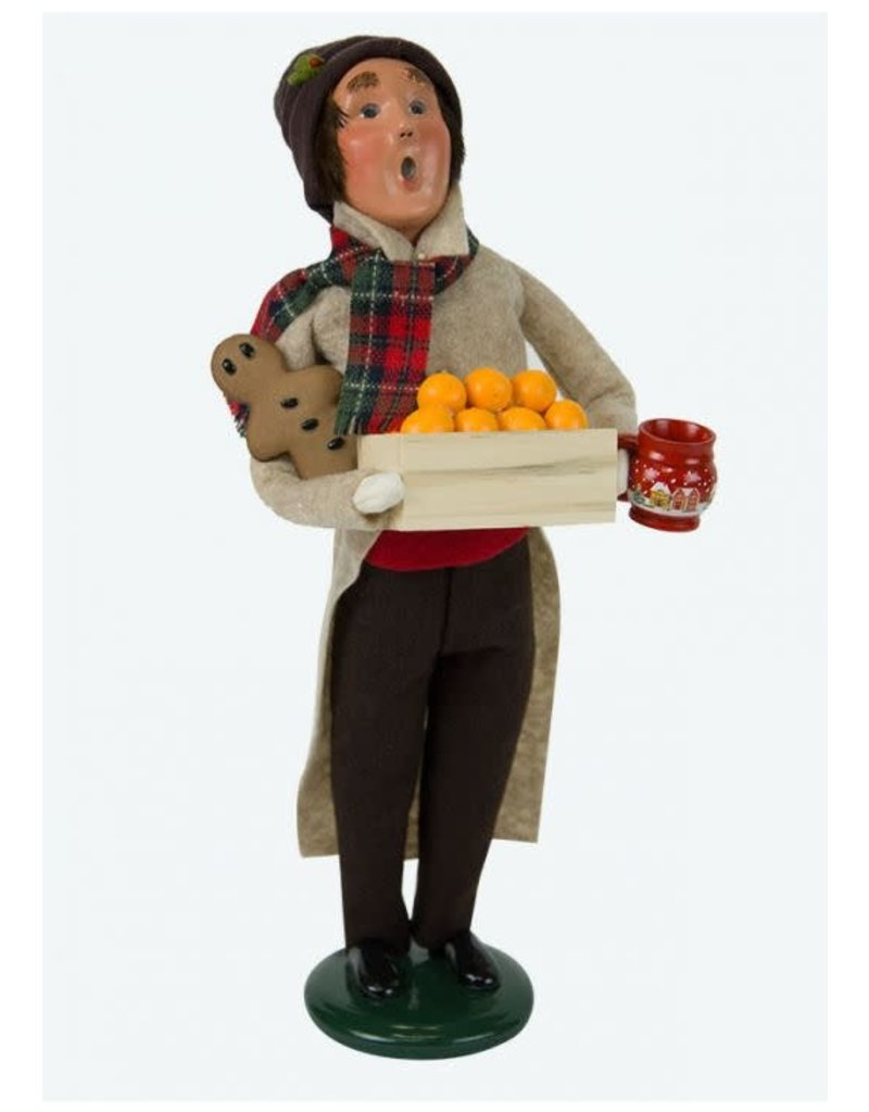 Byers' Choice Carolers Man with Gingerbread