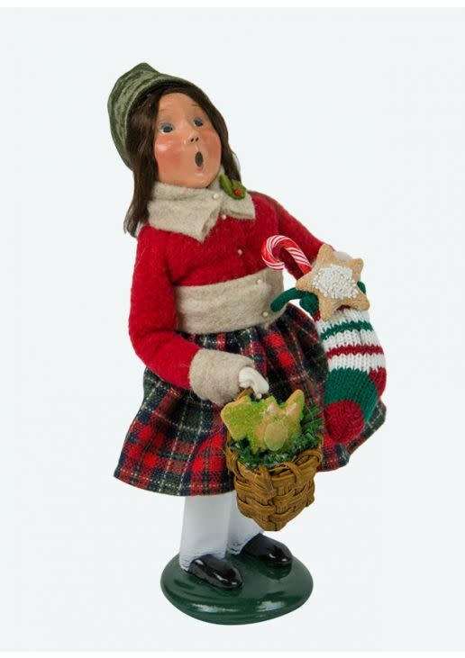Byers' Choice Carolers Girl with Gingerbread