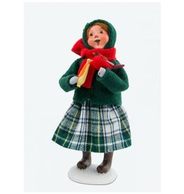 Byers' Choice Carolers Christmas Cardinal Girl