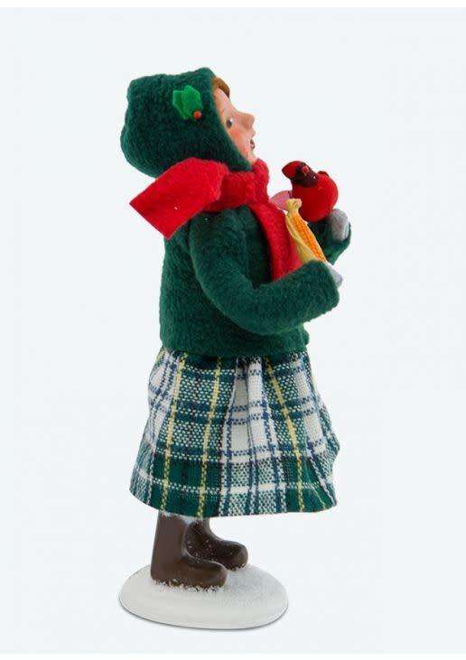 Byers' Choice Carolers Christmas Cardinal Girl