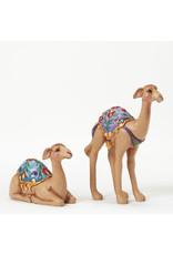 Jim Shore Mini Nativity Camels Set of 2