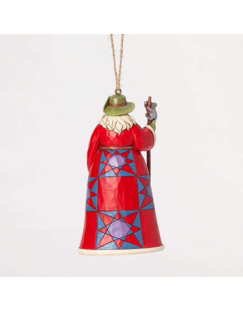 Jim Shore Australian Santa Ornament