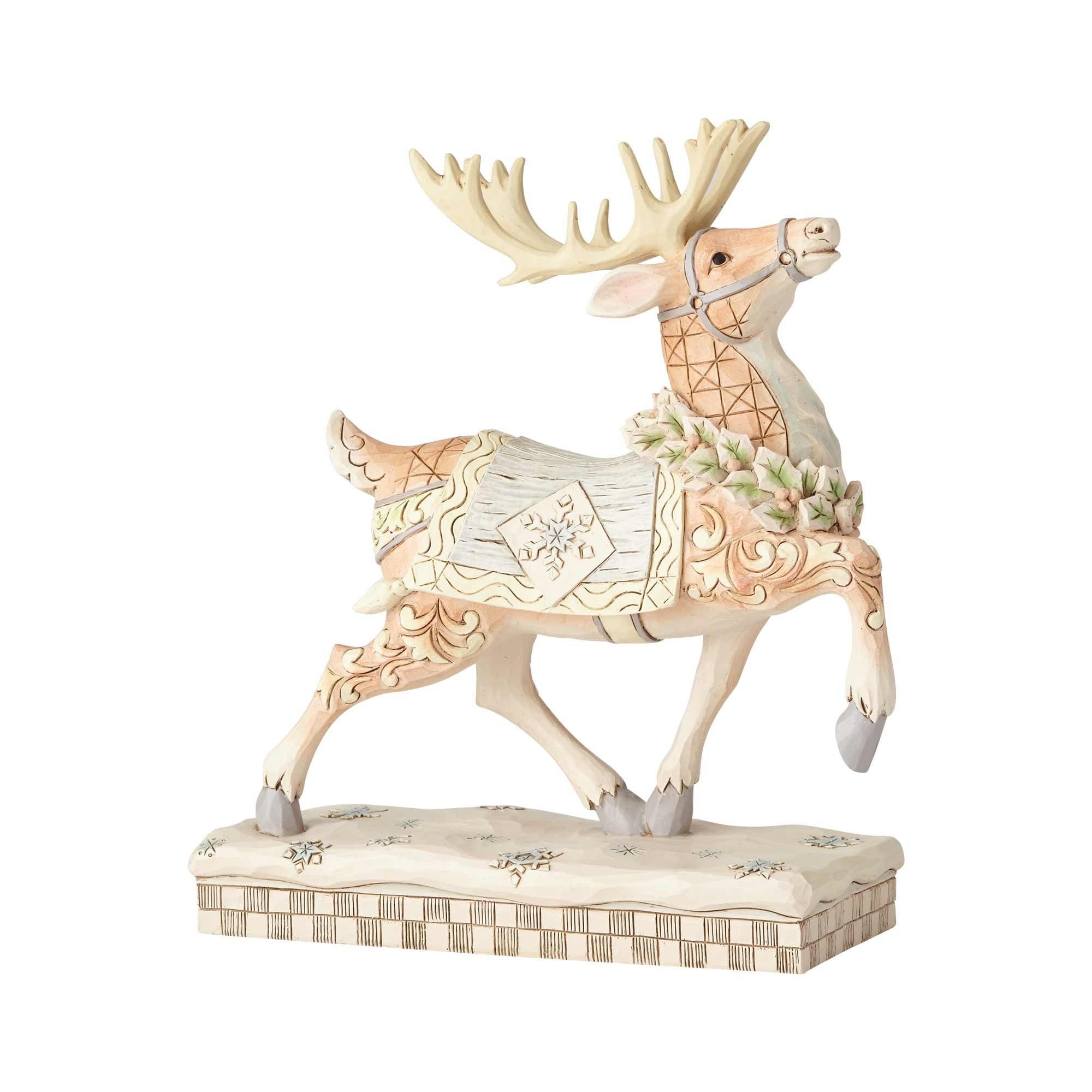 Jim Shore Woodland Prancing Reindeer