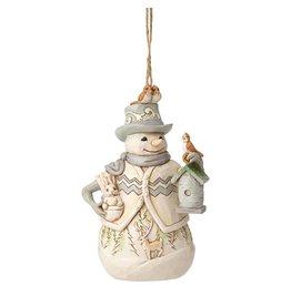Jim Shore Woodland Snowman Ornament