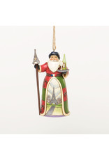 Jim Shore French Santa Ornament