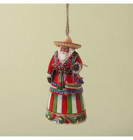 Jim Shore Mexican Santa Ornament