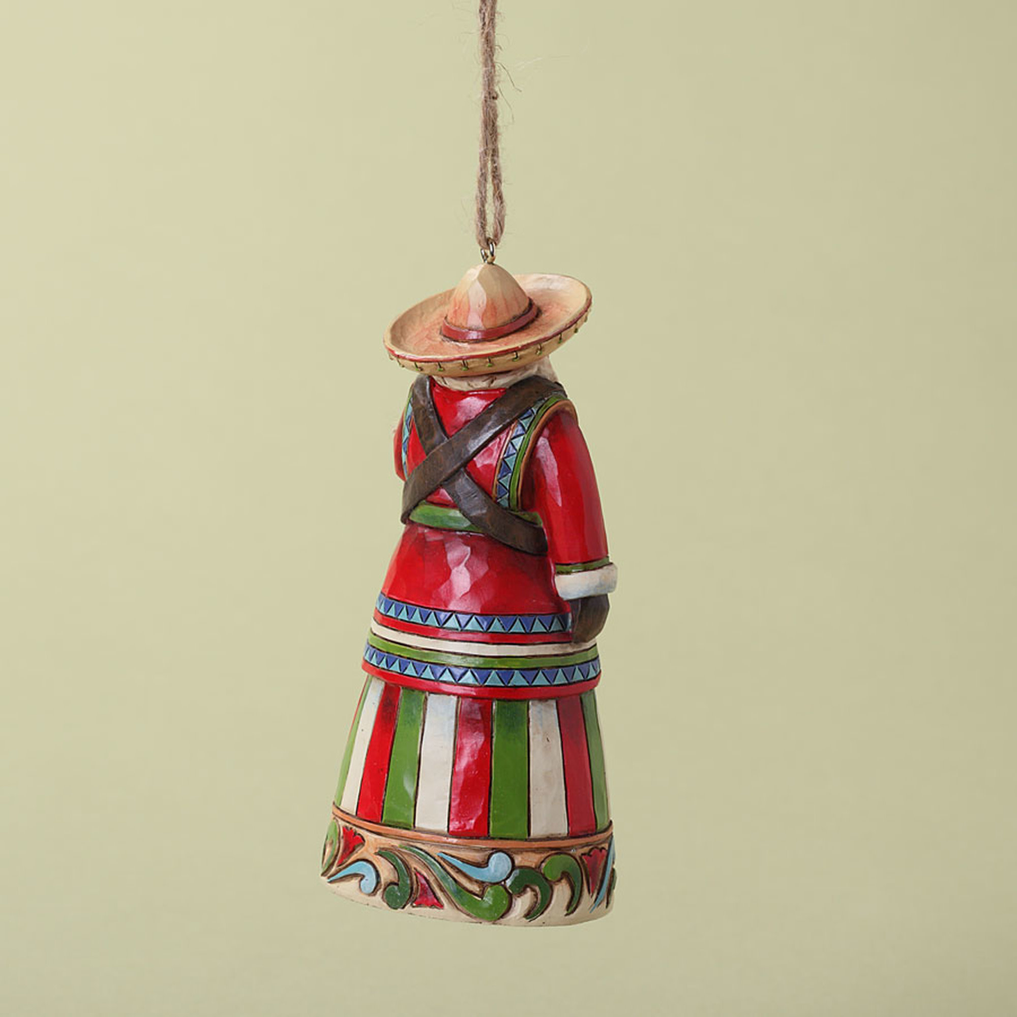 Jim Shore Mexican Santa Ornament