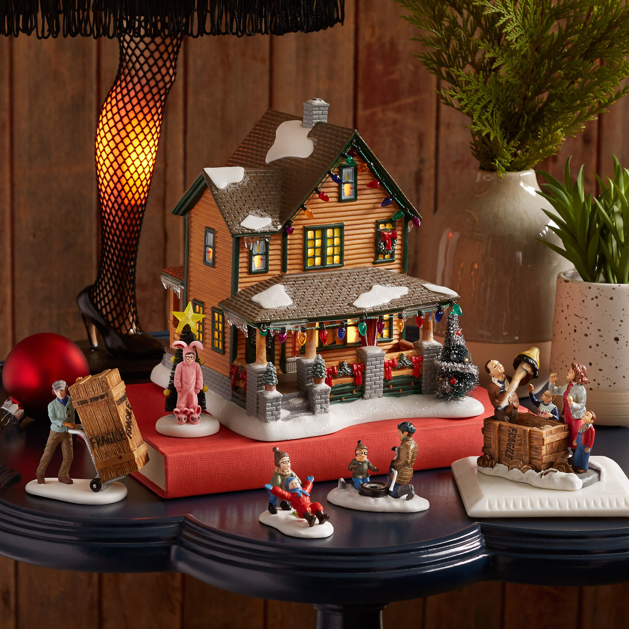 Department 56 A Christmas Story Village Ralphie's House