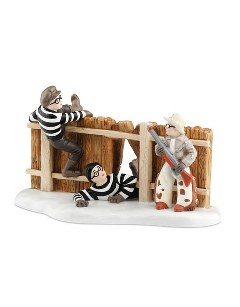 Department 56 Ralphie & Ol' Blue Save the Day for A Christmas Story Village
