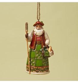 Jim Shore Italian Santa Ornament