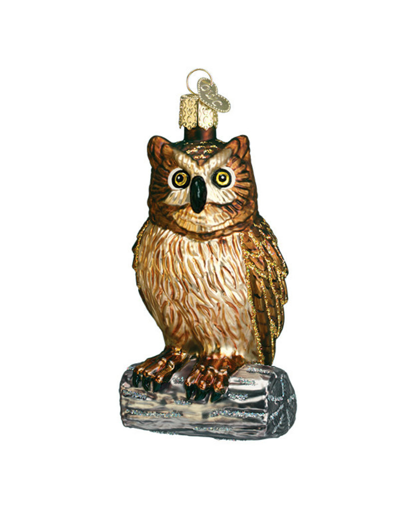 Old World Christmas Wise Old Owl