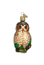 Old World Christmas Spotted Owl