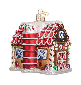 Old World Christmas Gingerbread Barn