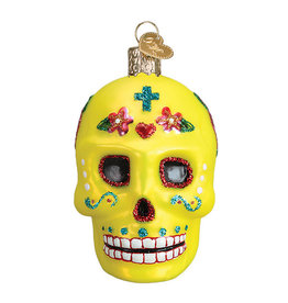 Old World Christmas Sugar Skull