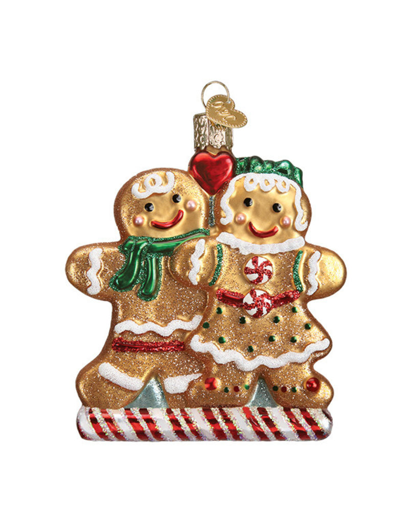 Old World Christmas Gingerbread Friends