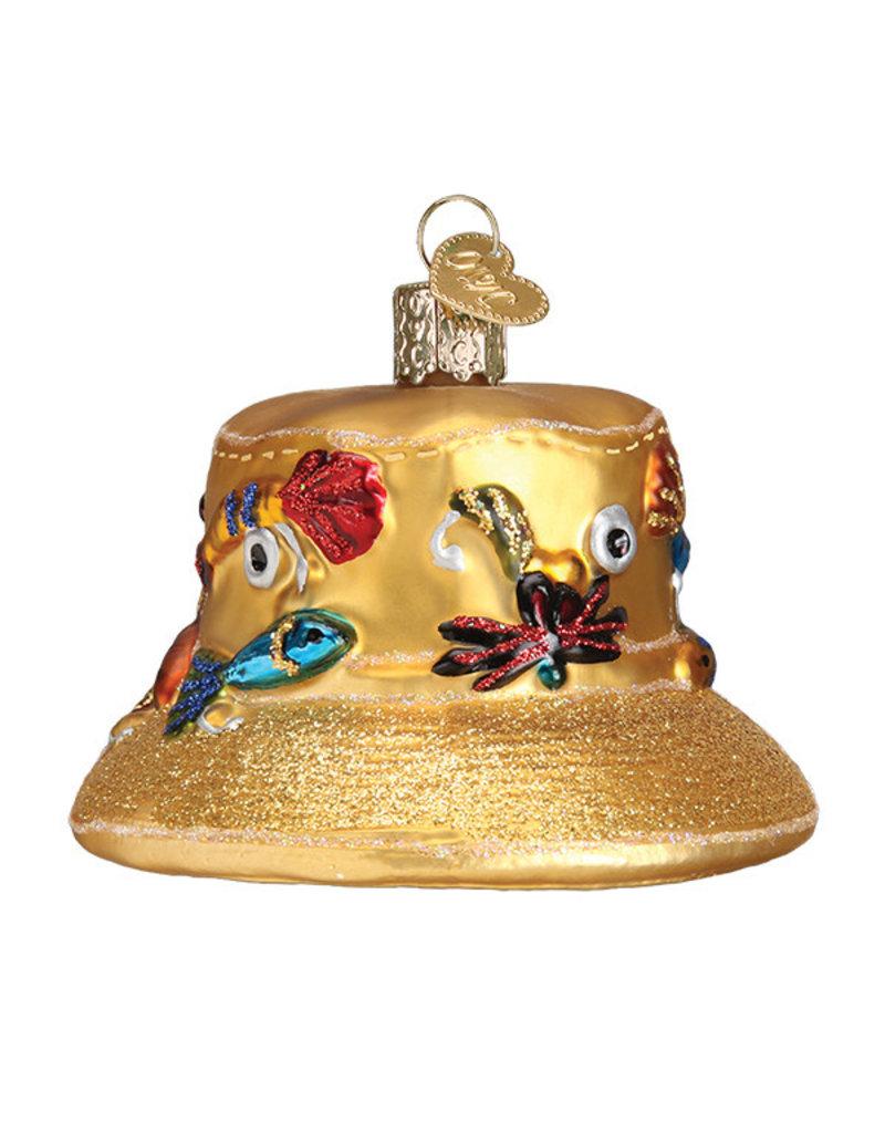Old World Christmas Fisherman's Hat
