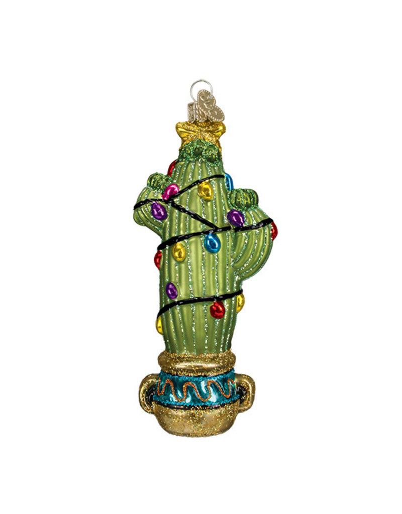 Old World Christmas Christmas Cactus