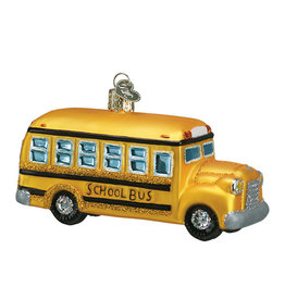 Old World Christmas School Bus