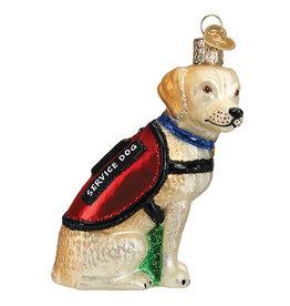 Old World Christmas Service Dog